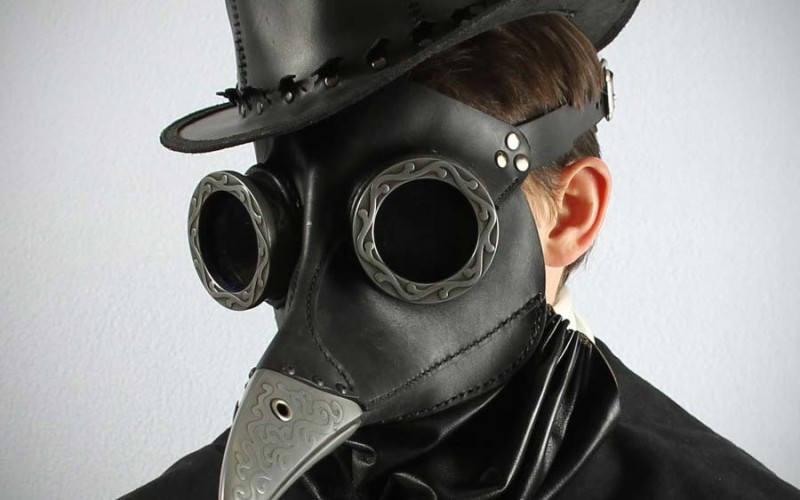 Bubonic plague doctor mask for sale