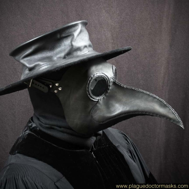 Bubonic Plague Mask
