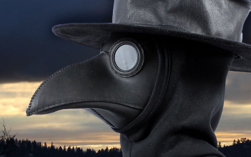 Traditional Plague Doctor Mask