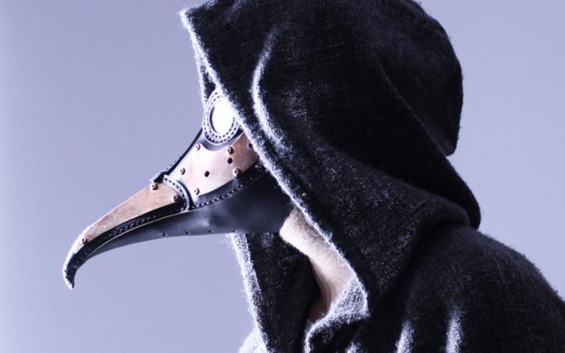 Masque Steampunk Cuivre