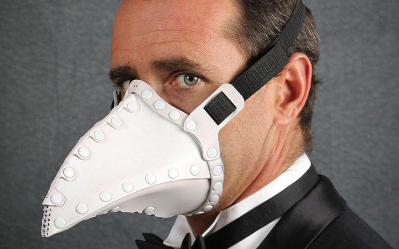 Demi-Masque de Docteur de Peste
