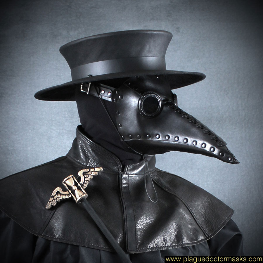 The United States of the Solar System, A.D. 2133 (Book Ten) - Page 5 Plague-doctor-masks